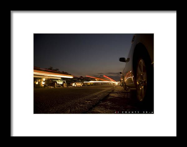 Florida Framed Print featuring the photograph County 30-a by Jonathan Ellis Keys