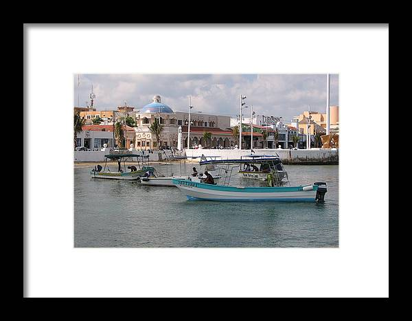 Cozumel Framed Print featuring the photograph Cozumel by Debbie Mathews