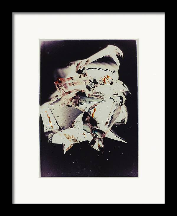Abstract Framed Print featuring the photograph Craft by David Rivas