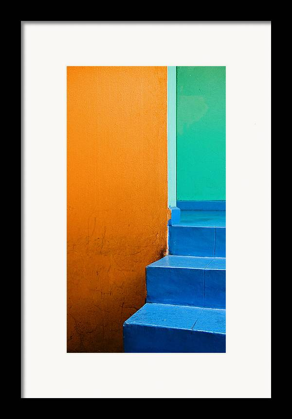 Oaxaca Framed Print featuring the photograph Creamsicle by Skip Hunt