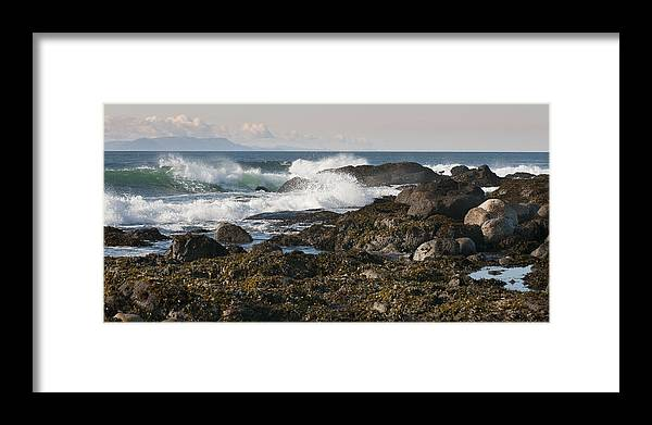 Waves Framed Print featuring the photograph Creating Waves by Chad Davis