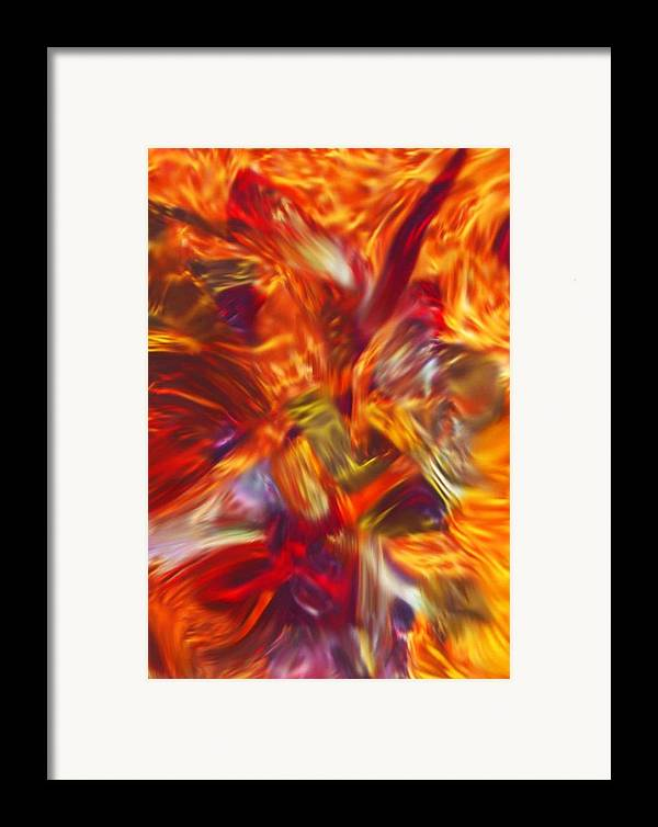 African Framed Print featuring the painting Creations Vortex by AJ Modiest