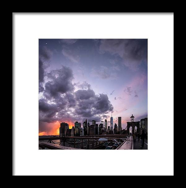 Catalog Framed Print featuring the photograph Crepsucular Nights by Johnny Lam