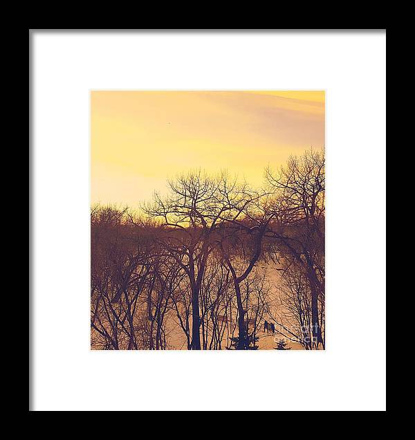 Crepuscular Framed Print featuring the photograph Crepuscular by Manuel Matas