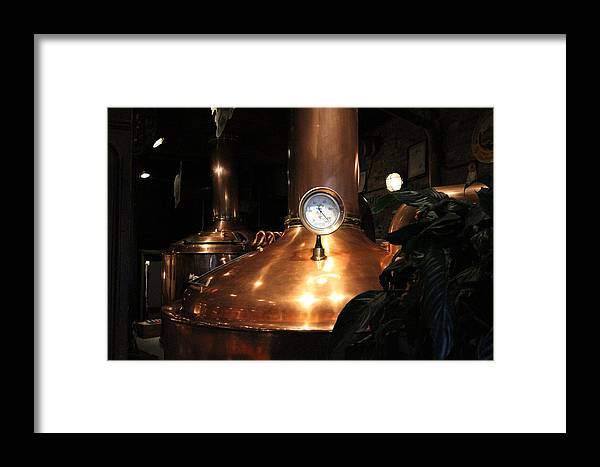 New Orleans Framed Print featuring the photograph Crescent City Brewhouse by Chuck Johnson