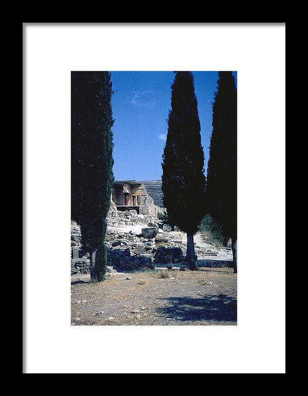 Crete Framed Print featuring the photograph Crete by Flavia Westerwelle