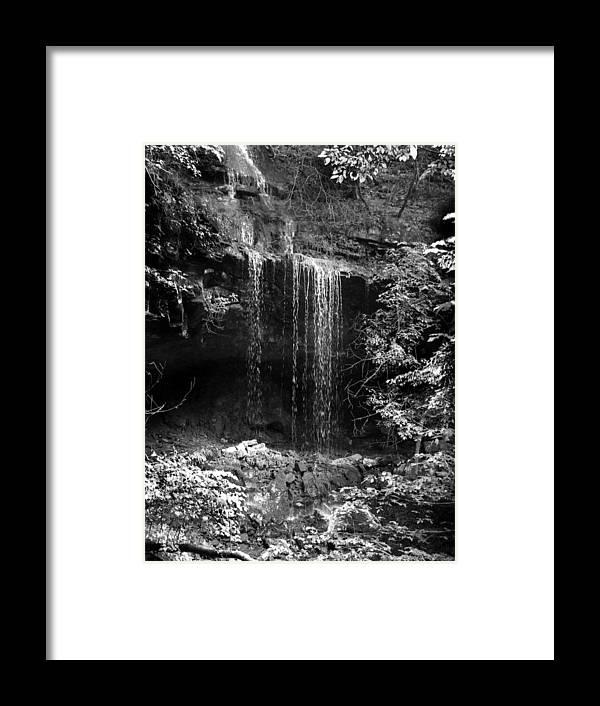 Ansel Adams Framed Print featuring the photograph Crikfall by Curtis J Neeley Jr