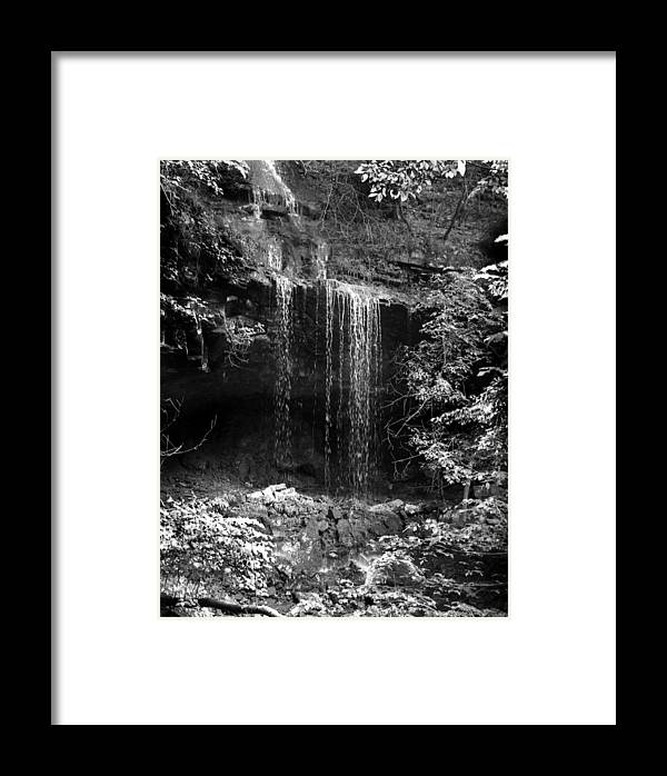 Ansel Adams Framed Print featuring the photograph Crikfall by Curtis J Neeley Jr