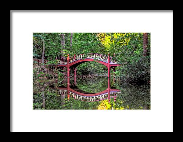 Crim Dell Framed Print featuring the photograph Crim Dell Summer by Jerry Gammon