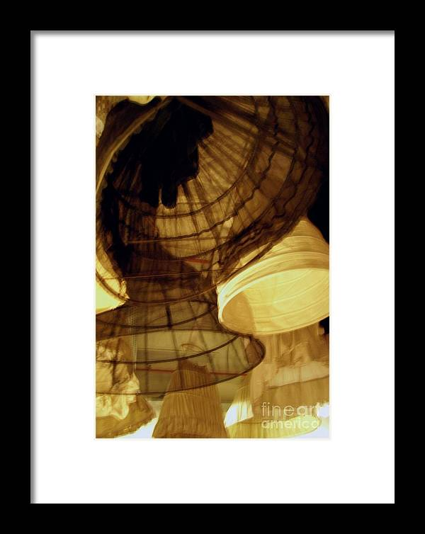 Theatre Framed Print featuring the photograph Crinolines by Ze DaLuz