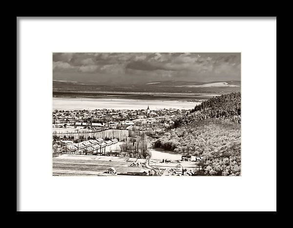 Cristian Framed Print featuring the photograph Cristian Village by Gabriela Insuratelu