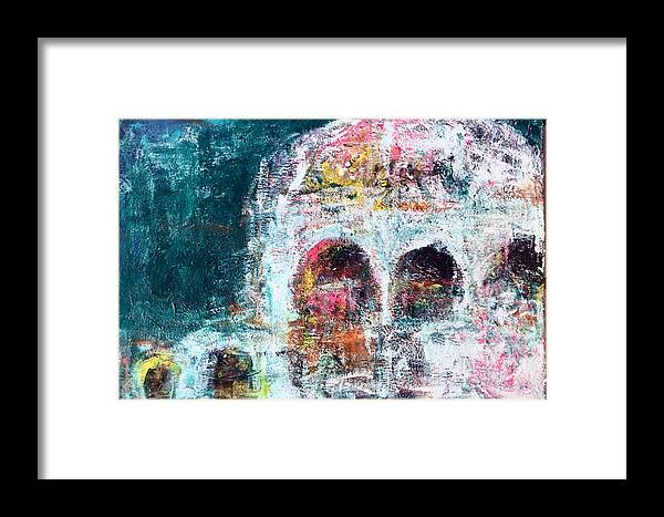 Framed Print featuring the painting Crockpot by Randi Schultz