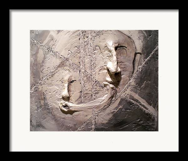 Portraits Framed Print featuring the painting Cross Cultural by Kime Einhorn