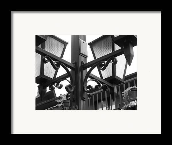 Light Framed Print featuring the photograph Cross Roads by Jessica Burgett
