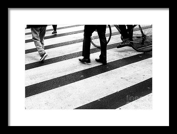 Crossings Framed Print featuring the photograph Crossings 163 by John Rizzuto