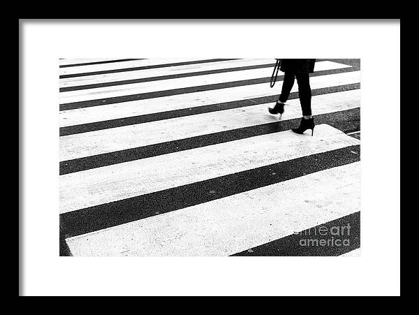 Crossings Framed Print featuring the photograph Crossings 165 by John Rizzuto