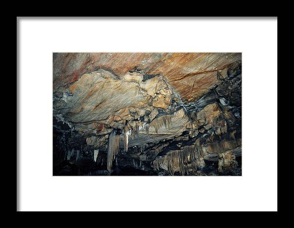 Sequoia National Park Framed Print featuring the photograph Crystal Cave Marble by Kyle Hanson