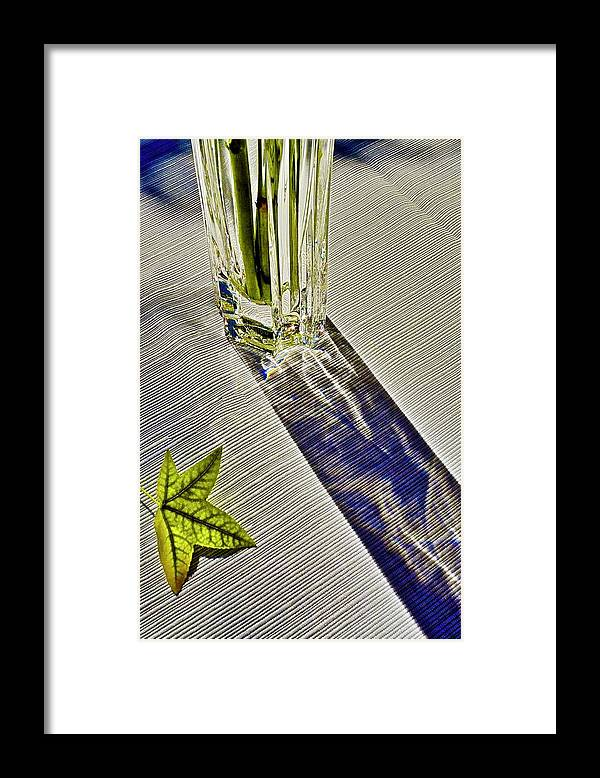Crystal Framed Print featuring the photograph Crystal Reflections by Kirsten Giving