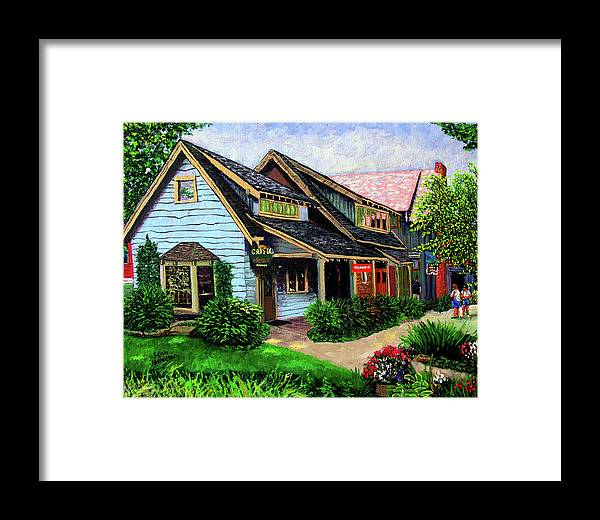 Shop Framed Print featuring the painting Crystal Source Daily Grind by Stan Hamilton