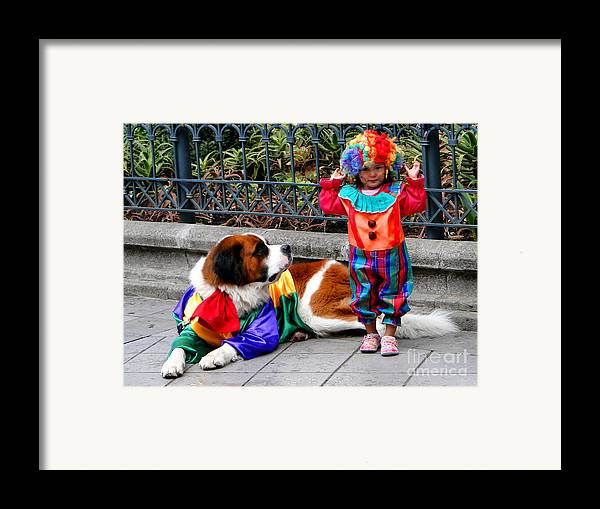 Al Bourassa Framed Print featuring the photograph Cuenca Kids 136 by Al Bourassa