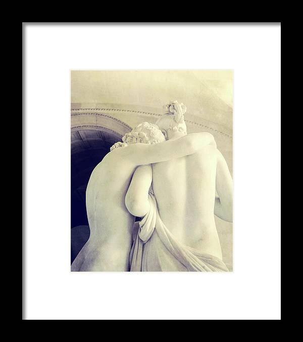 Psyche Framed Print featuring the photograph Cupid And Psyche by JAMART Photography