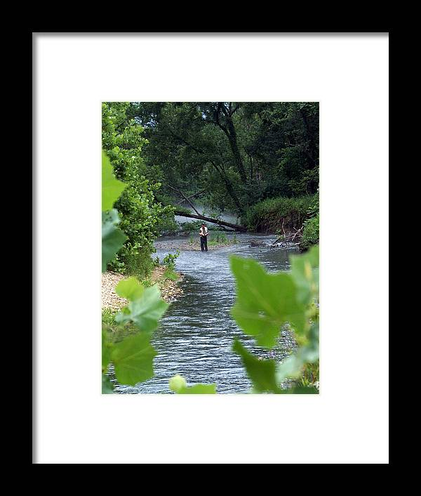 Current River Framed Print featuring the photograph Current River 5 by Marty Koch