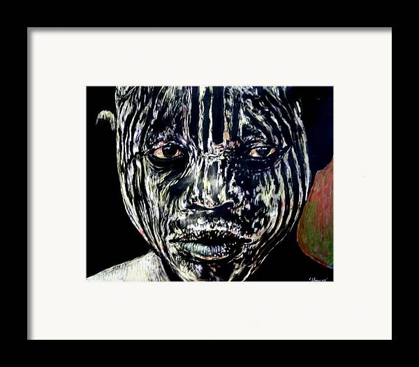 Framed Print featuring the mixed media Cusp Of Enlightenment by Chester Elmore