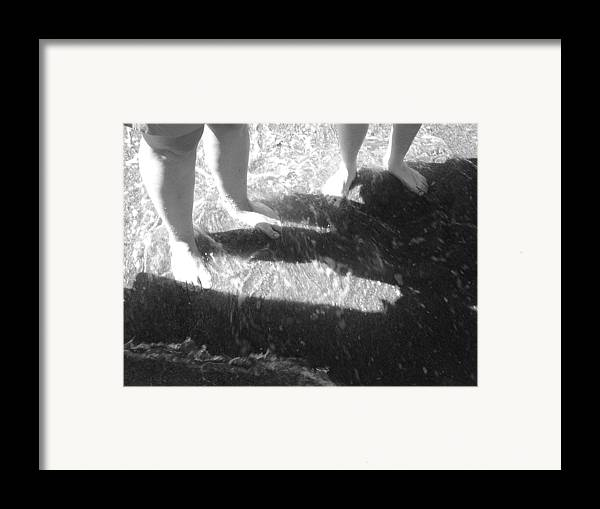 Feet Framed Print featuring the photograph Cute Feet by Scarlett Royal
