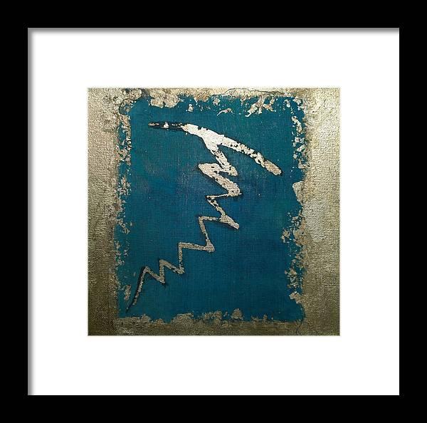 Dai Ko Myo Reiki Master Symbol Framed Print By Silk Alchemy
