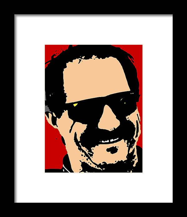 3 Framed Print featuring the mixed media Dale Earnhardt by Paul Van Scott