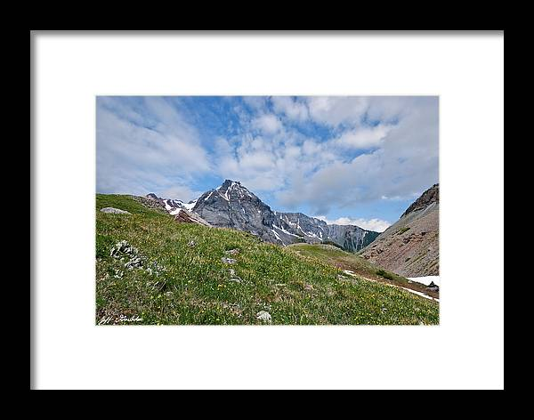 Alpine Meadow Framed Print featuring the photograph Dallas Peak by Jeff Goulden