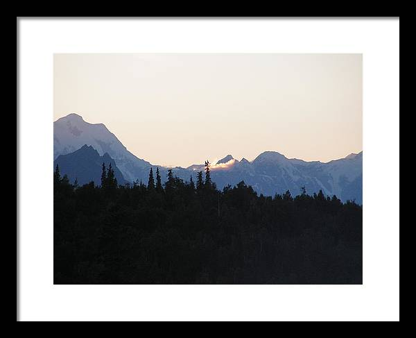 Landscape Framed Print featuring the photograph Danali by Giles b Liddell