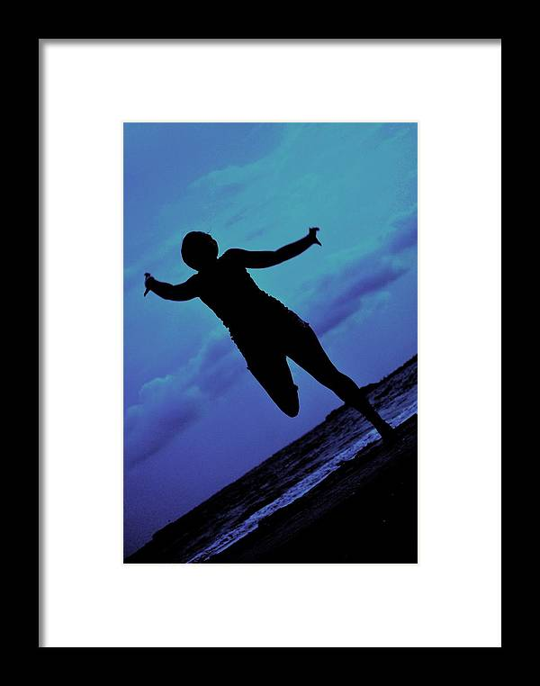 Sea Framed Print featuring the photograph Dance By The Sea by Trudi Southerland