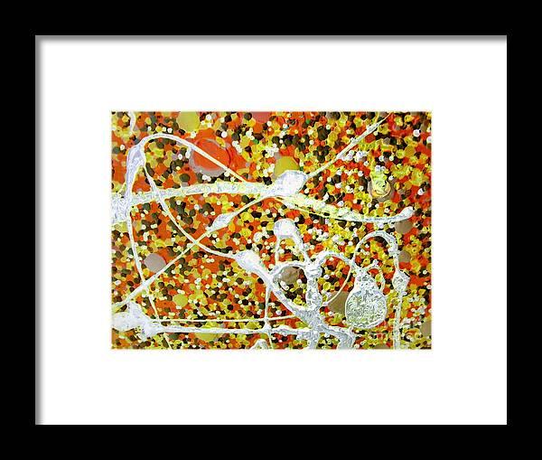 Dancing Machine Framed Print featuring the painting Dance Machine by Dawn Hough Sebaugh