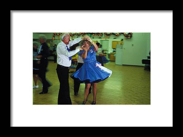 Square Dance Framed Print featuring the photograph Dance With Me by Carl Purcell