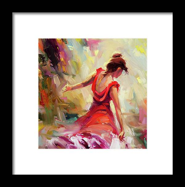 Dancer Framed Print featuring the painting Dancer by Steve Henderson