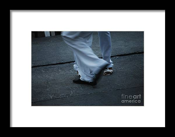 Dancing Framed Print featuring the photograph Dancing Feet At The Dominican Republic Son Party Number Three by Heather Kirk