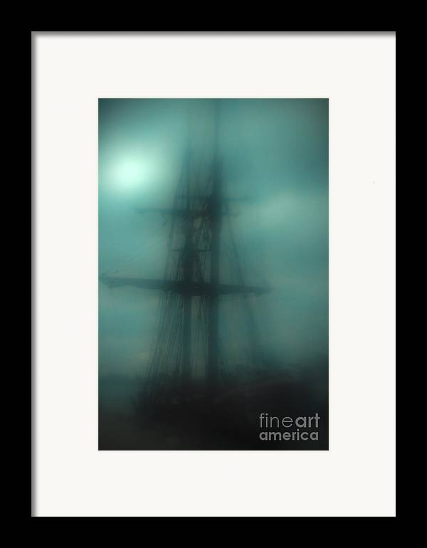 Blue Framed Print featuring the photograph Dangerous Waters by Andrew Paranavitana