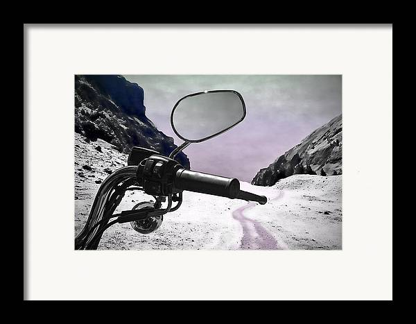 Handle Framed Print featuring the photograph Daredevil by Evelina Kremsdorf