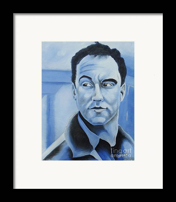 Dave Matthews Framed Print featuring the painting Dave Matthews - Some Devil by Joseph Palotas