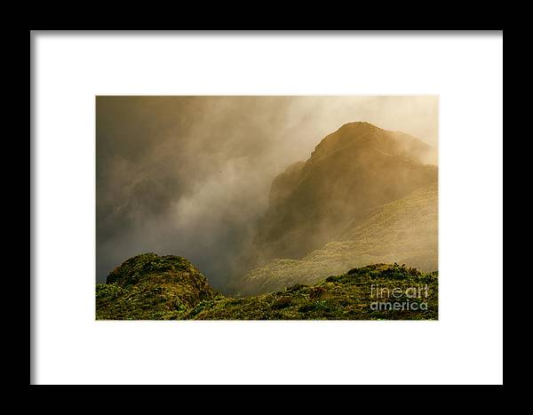 Azores Framed Print featuring the photograph Dawn At Fogo Crater by Gaspar Avila