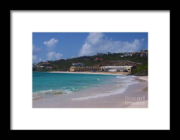Dawn Beach Framed Print featuring the photograph Dawn Beach by Debbi Granruth