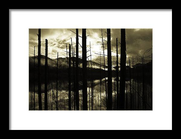 Sunrise Framed Print featuring the photograph Dawn by Thomas Duffy