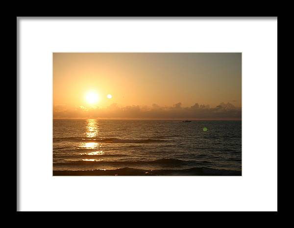 Landscape Framed Print featuring the photograph Day Break by Dennis Curry
