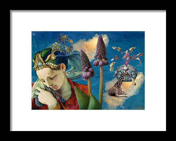 Dreamscape Framed Print featuring the digital art Day Dreams by Laura Botsford