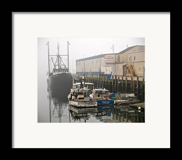 Weather Framed Print featuring the photograph Day Off by Bob Orsillo