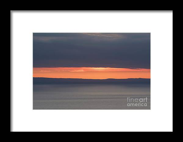 Cloud Framed Print featuring the photograph Daybreak by Clayton Bastiani