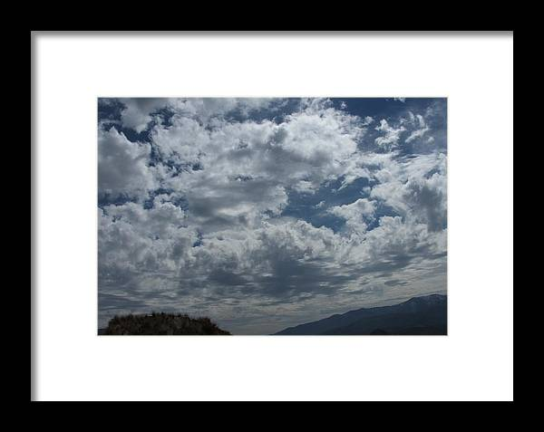 Clouds Framed Print featuring the photograph Daydreaming by Shari Chavira