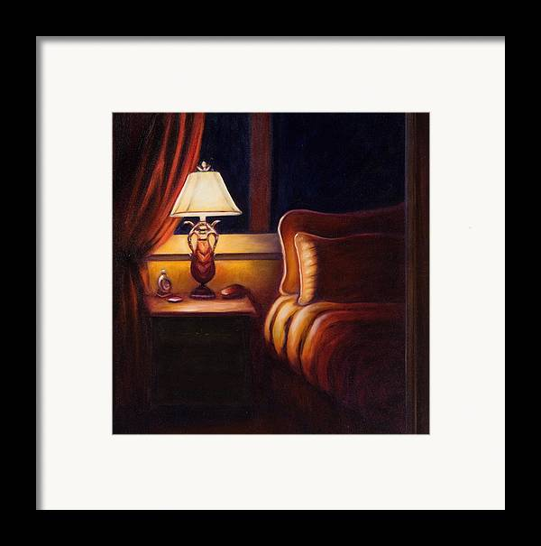 Still Life Framed Print featuring the painting Days End by Shannon Grissom