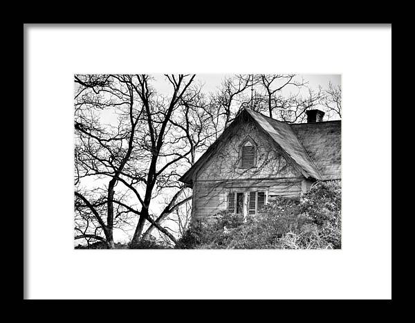 Architectural Framed Print featuring the photograph Days Gone By by Jan Amiss Photography